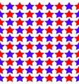 Seamless Star Monochrome vector image vector image