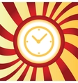 Time abstract icon vector image vector image