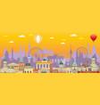 berlin skyline 6 vector image