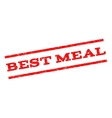 Best Meal Watermark Stamp vector image vector image