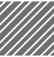 black white diagonal striped seamless pattern vector image vector image