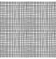 Canvas material black and white seamless pattern vector image vector image