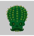 cinco de mayo with skull vector image vector image