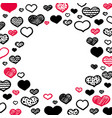 hand-drawn frame vector image vector image