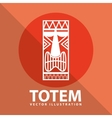 totem icon vector image