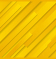 abstract yellow striped geometric oblique vector image vector image
