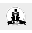 cruise icon vector image