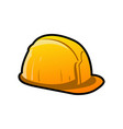 helm construction colored mascot logo vector image vector image