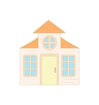 House with a mansard icon cartoon style vector image vector image