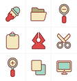 Icons Style Graphic design icons vector image