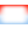 Blue Serenity Red Copyspace Background vector image vector image