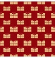 Gift boxes holiday seamless pattern vector image vector image