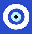 greek evil eye - symbol of protection vector image vector image