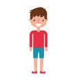 handsome icon boy vector image vector image