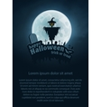 Happy Halloween Flyer vector image