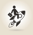 Icon Career Growth vector image