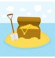 Island treasures vector image