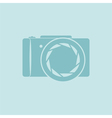 Photo camera symbol vector image