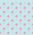 seamless tropical pattern with palm trees vintage vector image vector image