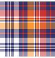 tartan plaid pattern background bright vector image vector image