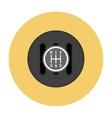 Manual Transmission flat icon vector image
