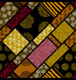 ethnic seamless pattern in african style vector image vector image