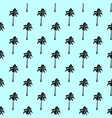 palm tree pattern seamless texture simple vector image vector image