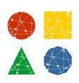 science icon design vector image vector image