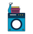 spring cleaning tools vector image vector image
