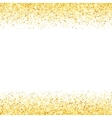 Abstract gold dust glitter star wave vector image vector image