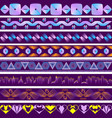 backgrounds in the style of ultraviolet vector image vector image