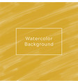 brown watercolor background vector image vector image