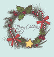 composition with colored decorations vector image