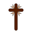 holy week object vector image