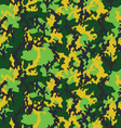 Seamless camouflage fashionable vector image vector image