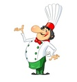 Smiling cook vector image vector image