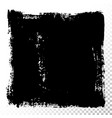 square text box black oil stains isolated vector image