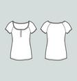 t-shirt vector image vector image