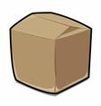 Paper box cartoon vector image