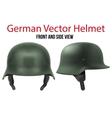 Military German helmet of WW2 vector image vector image