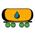 oil tank icon icon cartoon vector image vector image