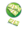 One dollar stack vector | Price: 1 Credit (USD $1)