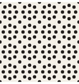 Seamless Black and White Circles Grid vector image