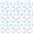 Seamless Pattern Light Thumb Up Icons vector image