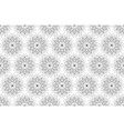 seamless sacred geometry seed life pattern vector image vector image