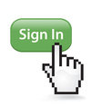 Sign In Click vector image vector image