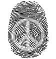 Thumb Print vector image vector image