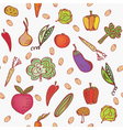vegetables2 vector image vector image