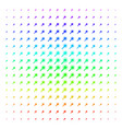 wand magic tool shape halftone spectral effect vector image