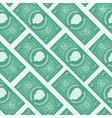 Money flat pattern vector image